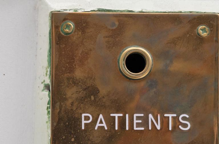 48 Wimpole - patients button