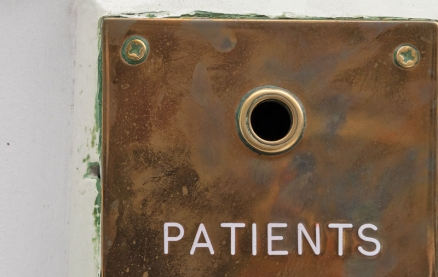 48 Wimpole - patients button